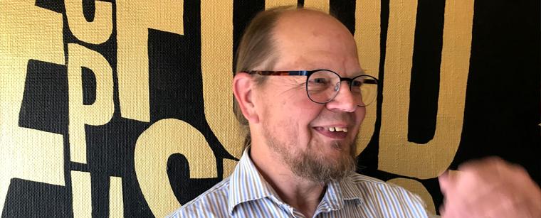 Havhøsts netværkskoordinator for maritime nyttehaver Hardy Jensen