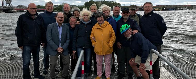 Netværksmøde hos Aalborg Fjordhaver i forbindelse med Velux Fondens Havhøst-projekt